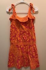 NEW!! Roxy Girls Sun Dress Beach Coverup Sz L XL Adjustable Straps - NWT