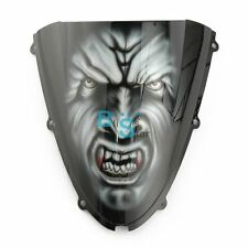 Airbrushed Vampire Custom Windscreen Windshield Fit kawasaki Fairing motorcycle
