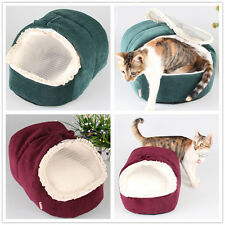 Super Soft Dog House Cat Kennel Small Dog Bed Pet Puppy Cushion XXS/ XS/S Small