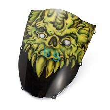 Airbrushed Monster Custom Windscreen Windshield Fit kawasaki Fairing motorcycle