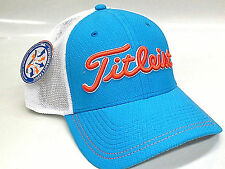 New Titleist Golf Fitted Golf Cap Tech Stretch Fit Golf Hat Mesh Back Colorful