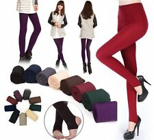 Hot Women Winter Skinny Slim Thick Warm Stretch Pants Footless Tights Stockin LJ