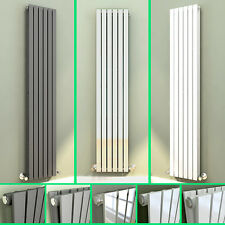 Designer Radiator Vertical Single Double Flat Panel Radiator White Anthracite