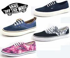VANS Authentic Canvas Mens Ladies Disney Navy Cosmic Lace Up Canvas Shoes Pumps