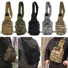 Outdoor Military Shoulder Tactical Backpack Camping Travel Hiking Trekking Bag#X