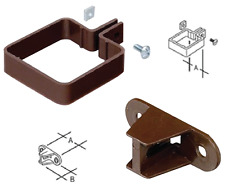 Marley 65mm Square RCE2 & RCB300 Rainwater Downpipe 2 Part Down Pipe Clip