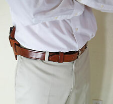 "Gun Holster Leather Belt - CCW - ""COCHISE"" Men's 1 1/2"""