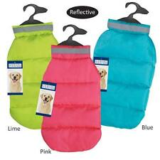CC North Paw Vibrant Puffy Dog Vest Coat Jacket Reflective Repellent All SIZES