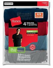 8 Hanes Men's TAGLESS® ComfortSoft Dyed Crewneck T-Shirt #2165A4 * Assorted