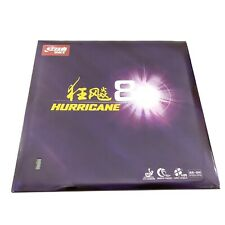 DHS table tennis rubber hurricane 8 ITTF approved ping pong sponge