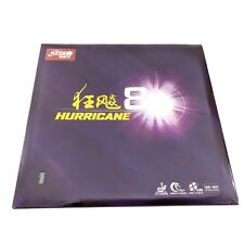 Original DHS Hurricane 8 Table Tennis Rubber For Ping Pong Racket,ITTF