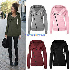 Fashion Womens Winter Hoodie Hooded Pullover Sweater Sweatshirt Jumper Coat Tops