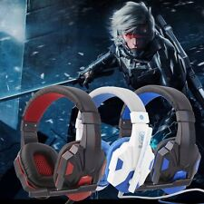 3.5mm Surround Stereo Gaming Headset Headband Headphone with Mic for PC HOT!