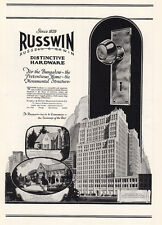 1925 Russwin: For the Bungalow, the Pretentious Home Print Ad (23575)