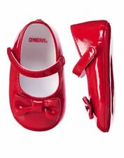 NWT Gymboree Very Merry Red Crib Dress Shoes Baby Girl Infant 4