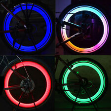 4 Colors Set Bike Bicycle Cycling Car Wheel Spoke Tire Wire Tyre LED Light Lamp
