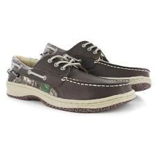 Men's Team Realtree® Mason Brown/Camo Medium Width Boat Shoes Size