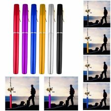 Hot Portable Aluminum Alloy Pocket Pen Shape Fish Fishing Rod Pole With Reel YL