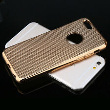 Luxury Stylish Electroplated Dotted Case Cover Gold For iPhone 5 5s {[mh240