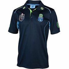 NSW Blues State of Origin Team Polo Shirt BNWT NRL Rugby League Clothing