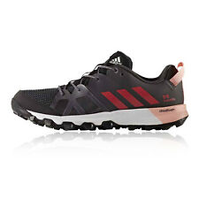 Adidas Kanadia 8 Womens Black Trail Running Road Sports Shoes Trainers Pumps
