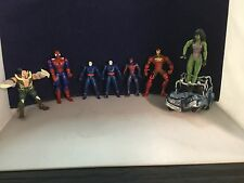 Action Figure Lot # 8 Open Box Incredible Condition. - Marvel - DC - Rare