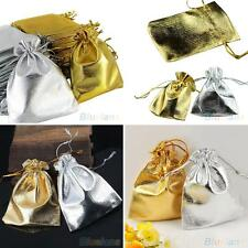 25PCS Organza Voile Jewelry Favour Wedding Candy Gift Pouch Bags 9X12cm Flowery