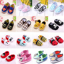 Toddler Baby Boys Girl Casual Soft Sole Crib Shoes Trainers PreWalker First Shoe