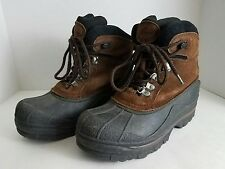 Eagle Mountain Thinsulate Hiking Hunting Boots Boys Youth Size 5M EUC!!!