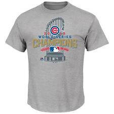 NWT Chicago Cubs Men's 2016 World Series Champions Locker Room T-Shirt
