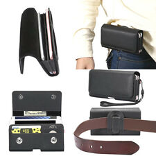 Universal Leather Belt Pouch Case Cover Holster Belt Clip for Various Mobile Ne2