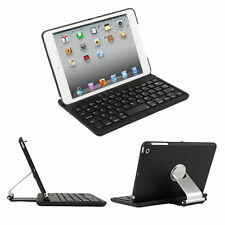 Swivel Rotary Stand Case Cover With Bluetooth Keyboard For Apple iPad Mini 1234