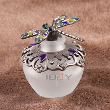 40ml Vintage Dragonfly Refillable Glass Perfume Bottle Wedding Decor Girl Gift