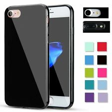 Shockproof Jelly Case Silicone Rubber Gel Cover Skin for Apple iPhone 7 7 Plus