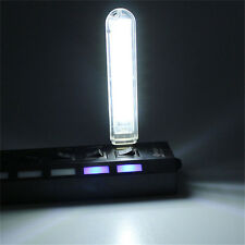 USB LED Lamp Mobile Power 8 Leds LED Lamp Lighting Computer Small Night Light