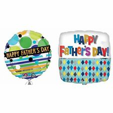 Anagram 18 Inch Happy Fathers Day Foil Balloon