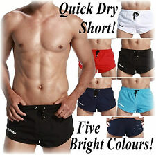 Mens SexyQuick Dry Swimwear with Tie Lassels  M/L Pos Gay Int 5 Col Show off HTF