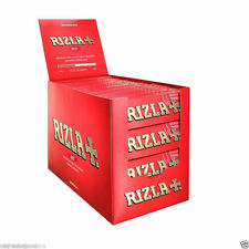 Genuine RIZLA Red Regular / Standard Size Cigarette Rolling Papers