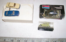Vintage Mercedes Citron Lamborghini Volvo HO Scale Cars by Wiking, EKO, Monogram