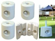 4 PC PIECE GAZEBO FOOT SUPPORT WEIGHT LEG WEIGHTS FOR MARQUEE TENT MARKET STALL