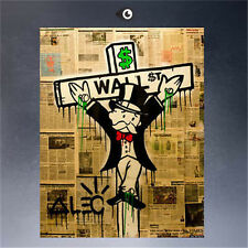 Alec monopoly HUGE OIL PAINTING MODERN ABSTRACT WALL DECOR ART CANVAS,The cross