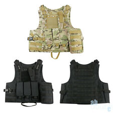 Durable Tactical Military Vest Army Paintball Airsoft Combat Assault Adjustable