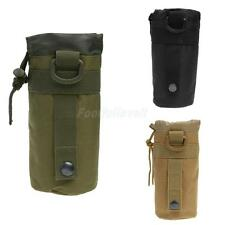 New Outdoor Tactical Military Molle Water Bottle Bag Kettle Pouch Holder