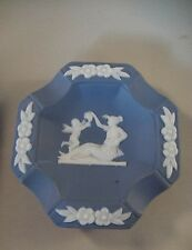 Small Faux Jasper Wedgewood Ashtray made in Occupied Japan
