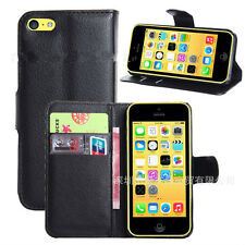 Iphone5c Flip Leather Wallet case/ Cover,Card Holder Stand Case/Pouch for Apple