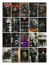 MUSIC POSTERS incl SLIPKNOT IRON MAIDEN BVB PARAMORE - 61x91.5cm Free UK Postage