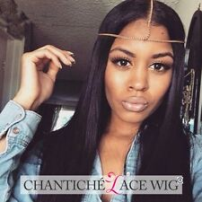 Women's Brazilian Remy Human Hair Lace Front Wigs Full Lace Silky Straight Wigs