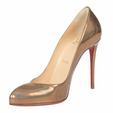 Christian Louboutin Breche Leather 100 mm Pumps | Iridescent Copper