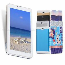 "7"" inch Tablet PC Android 4.4 Dual Core Dual Camera 8GB WIFI SIM 3G Phablet PAD"
