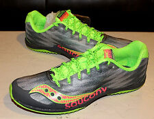 Saucony Womens Kilkenny XC 4 Cross Country Spikes GREEN Track & Field Shoes $75